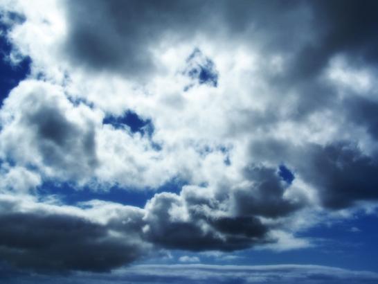 Oblačno, mestimično s kišom