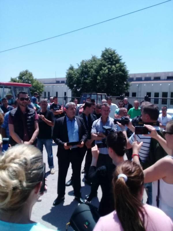 U Goraždevcu nastavljeni protesti