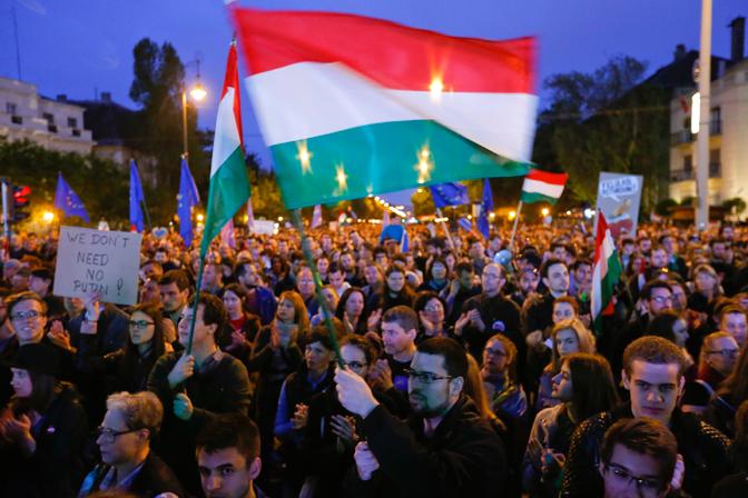 Mađarska, desetine protesta protiv