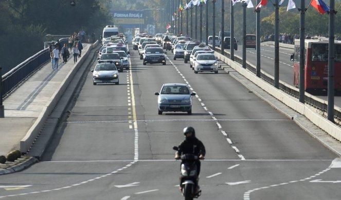 Saobraća slabog intenziteta, povolji uslovi za vožnju