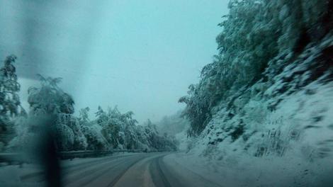 Oprezno na putu zbog leda