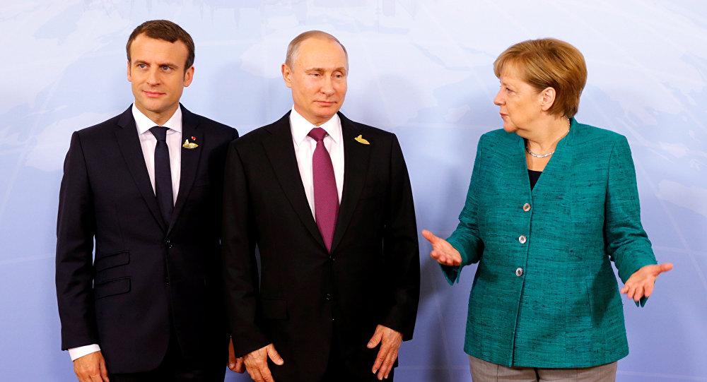 Merkel i Makron zvali Putina zbog Idliba
