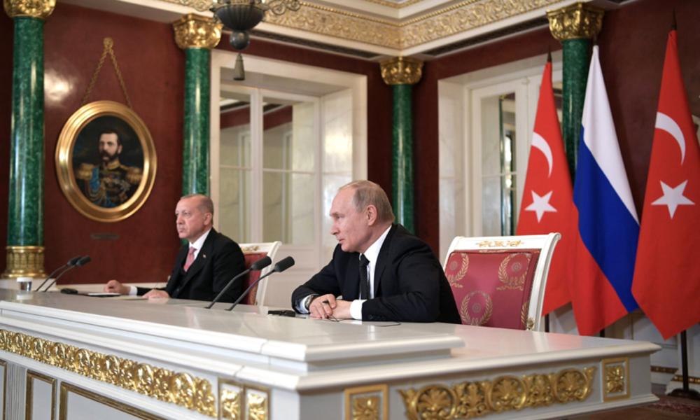 Putin i Erdogan razgovarali o Nagorno-Karabahu