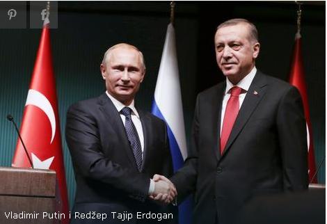 Erdogan stigao u Moskvu na razgovore sa Putinom