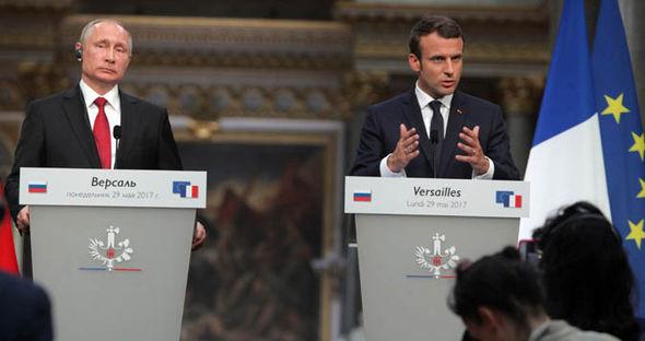 Makron i Putin razgovarali o Siriji i Ukrajini