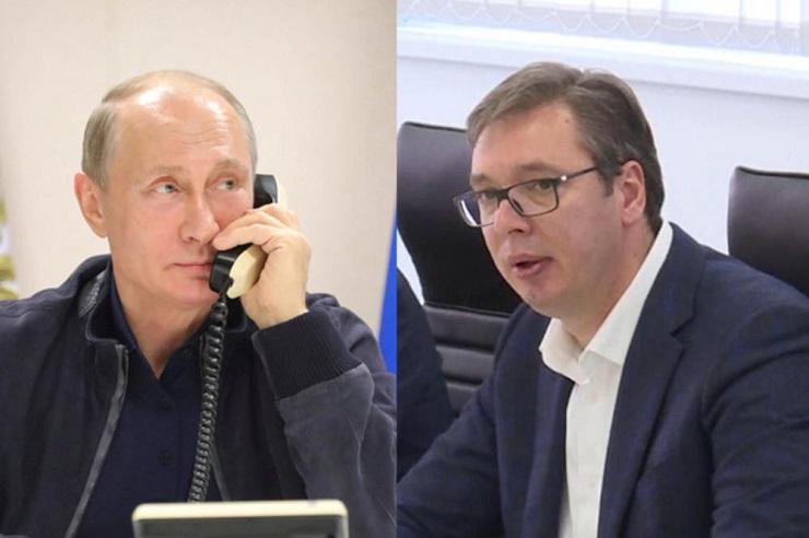 Vučić: S Putinom uvek pričam otvoreno o svemu