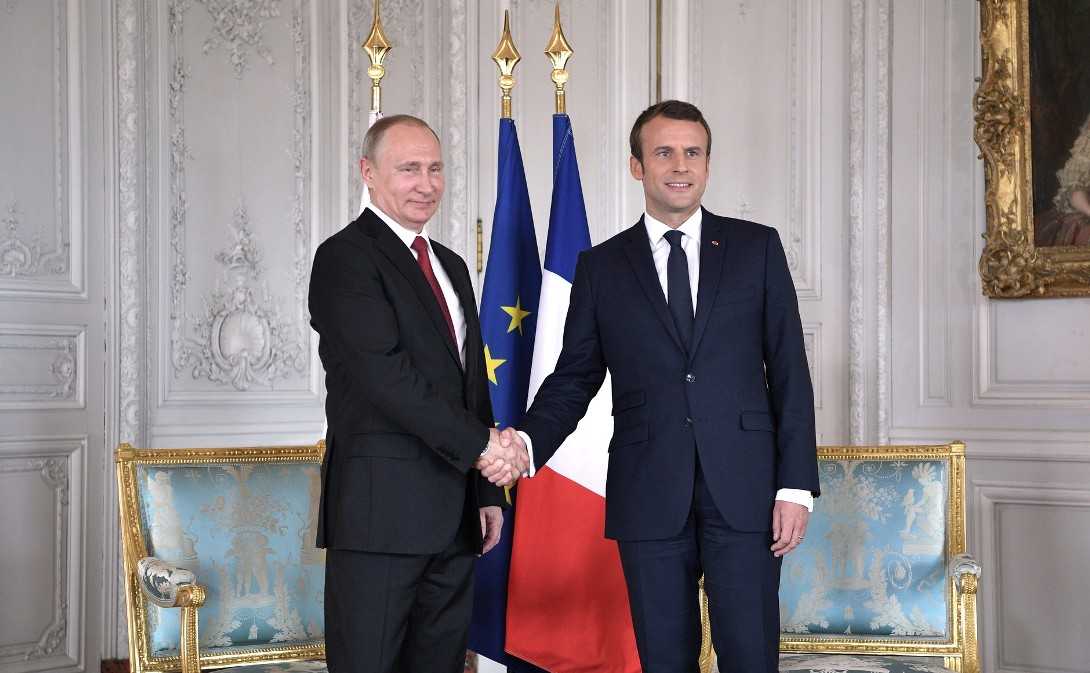 Putin i Makron razgovarali o Siriji i Ukrajini