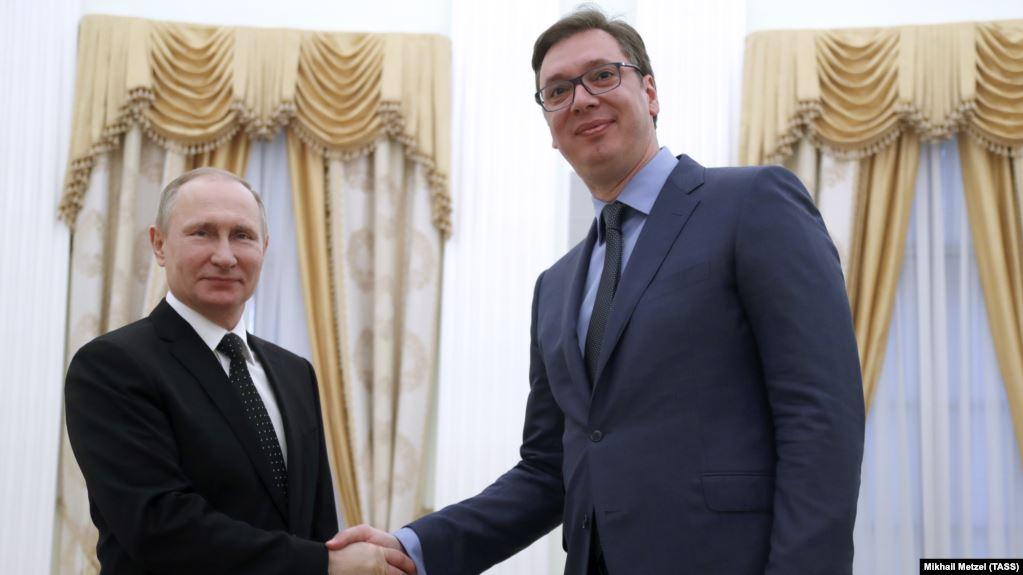 Vučić Putinu:Nisam optimista o kompromisu za KiM