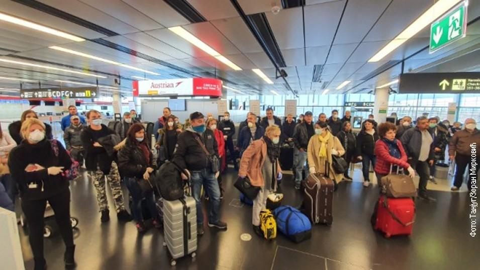 Letovi za Dubai, Maltu, Bratislavu, Prag, Nemačku, Oslo...
