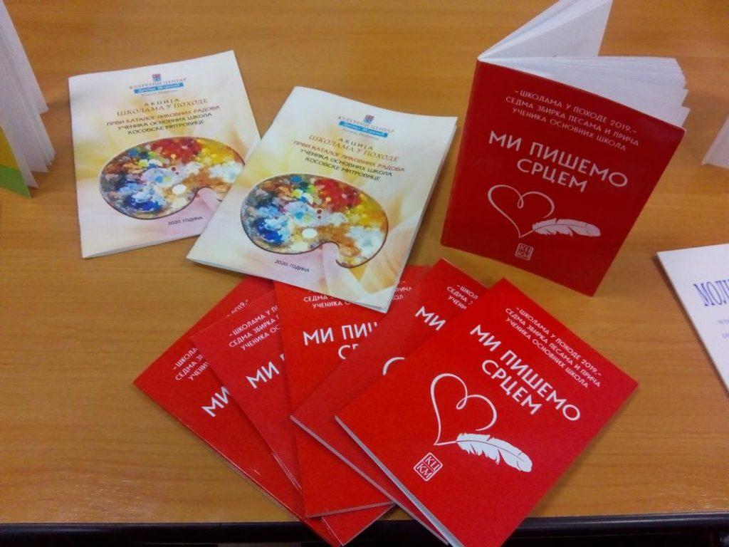 Deca Kosovske Mitrovice pišu i slikaju srcem