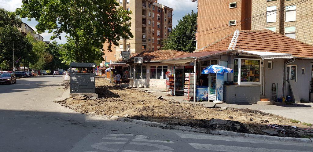 Počeli radovi na rekonstrukciji trotara u ulici Kralja Petra Prvog