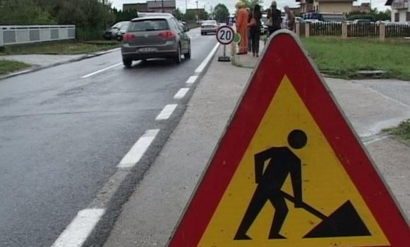 Radovi na više putnih pravaca u Srbiji