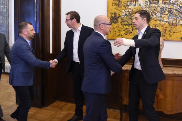 Vučić sutra sa kandidatima Srpske liste za poslanike na izborima na Kosovu i Metohiji