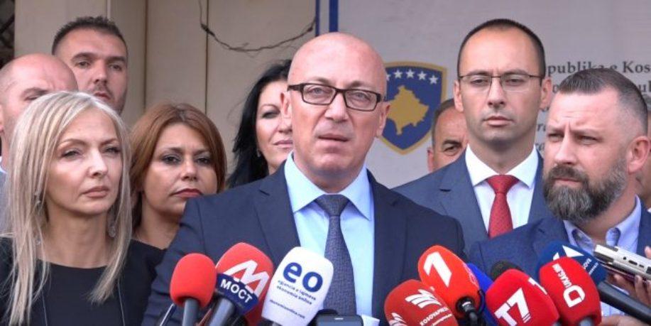 Srpska lista predala kandidaturu za vanredne parlamentarne izbore
