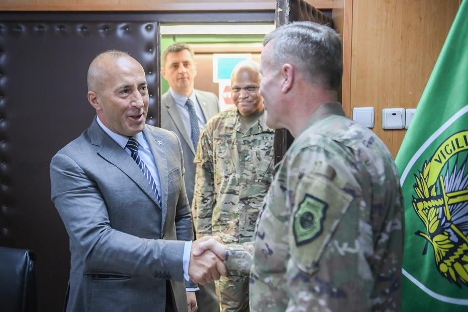 Haradinaj traži podršku NATO-a za dalji razvoj BSK
