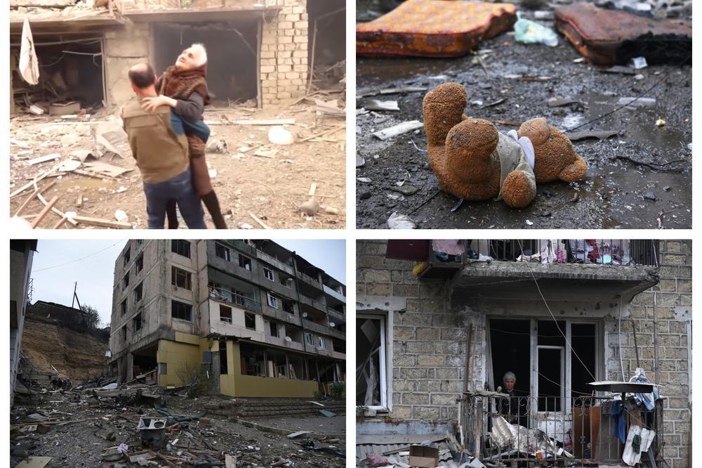 Jermenske snage izgubile više od 50 boraca; Crveni krst: Civili ginu alarmantnom brzinom