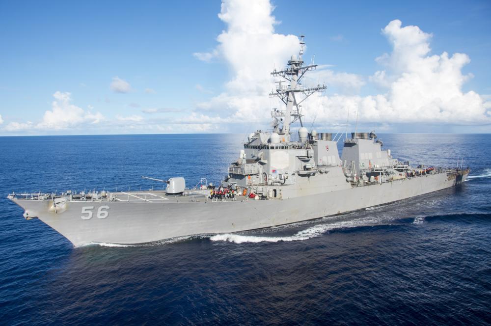 Američki brodovi kod ostrva pod kontrolom Kine
