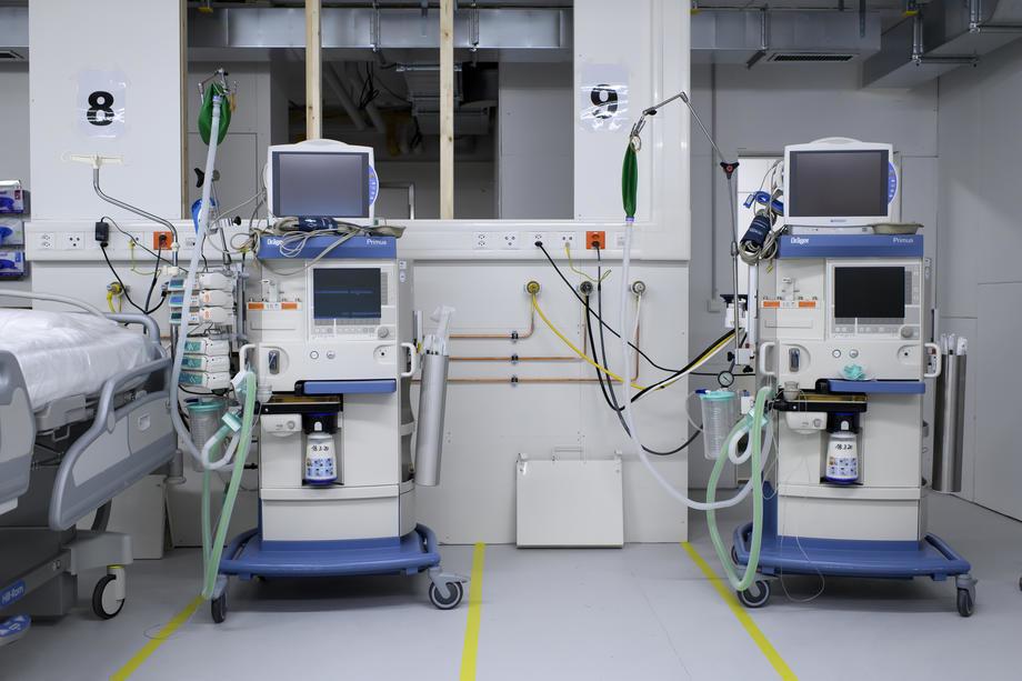Đerlek: Stiglo nam je deset novih respiratora