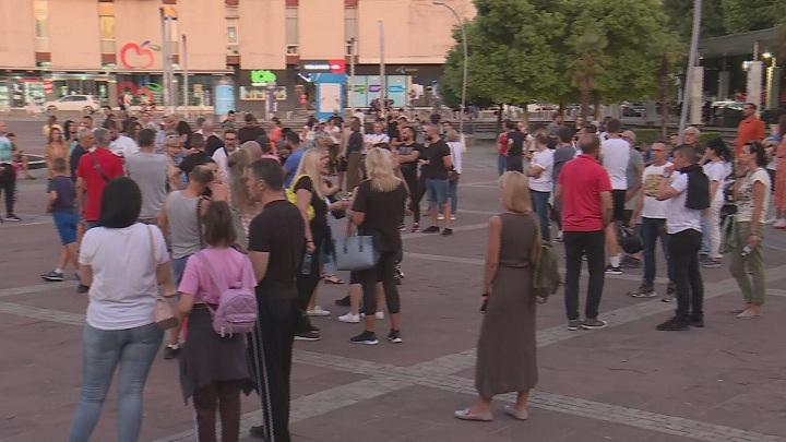 Protest u Podgorici protiv novih mera