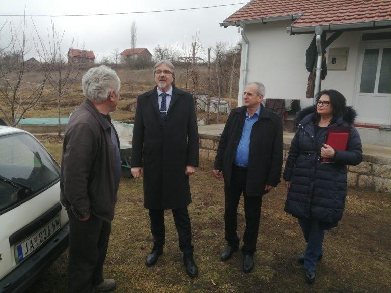 Pomoćnik direktora Kancelarije za KiM Zoran Bojović u opštini Istok