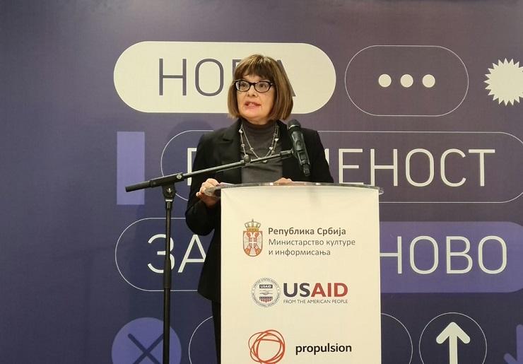 Gojković otvorila konferenciju