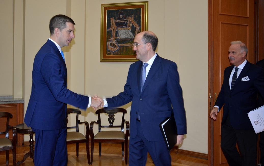 Đurić i italijanski zvaničnici o Kosovu i Metohiji