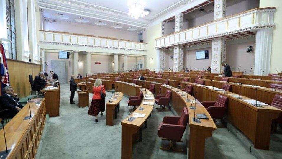 Raspušten Hrvatski sabor, slede izbori