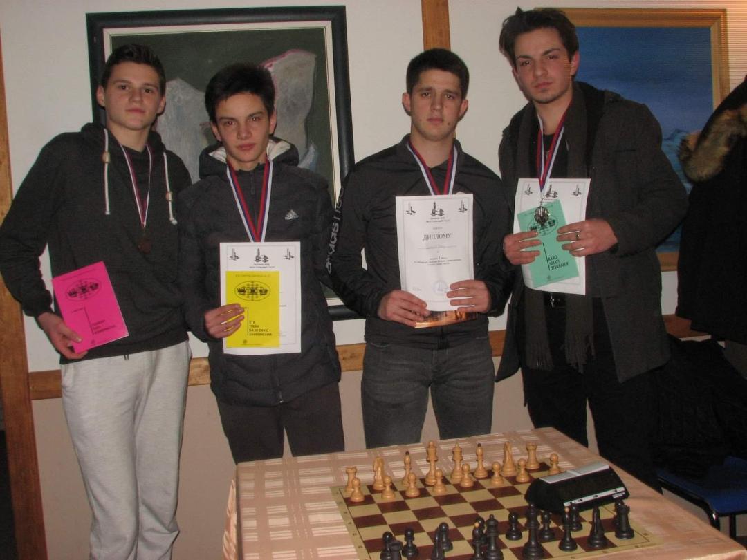 Na šahovskom prvenstvu u Štrpcu najbolji Veljko Stanojević iz Sevca