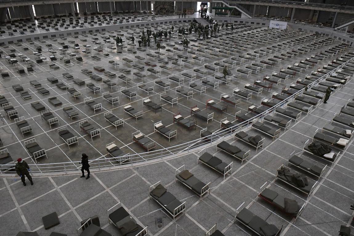 Milić: 61 pacijent na Sajmu, 14 više nego juče