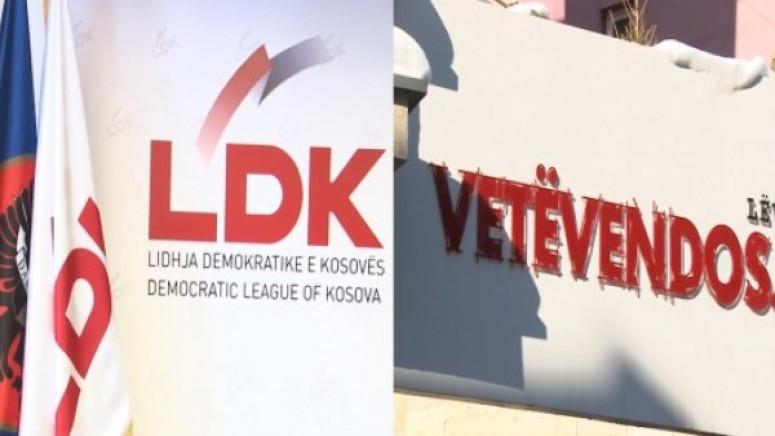 Samoopredeljenje i DSK potpisali koalicioni sporazum