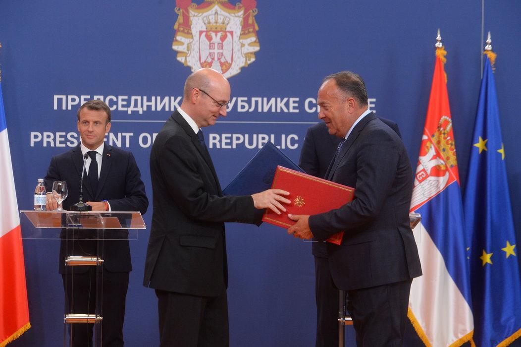 Potpisana 22 sporazuma između Srbije i Francuske