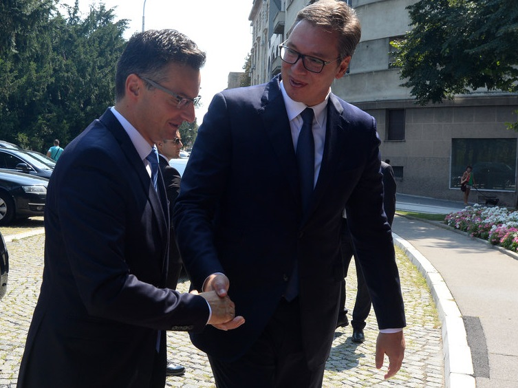 Vučić se sastao sa Šarecom, podrška Slovenije Srbiji