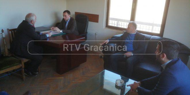 Sastankom sa članovima Privremenog organa, Jović započeo posetu opštini Gora
