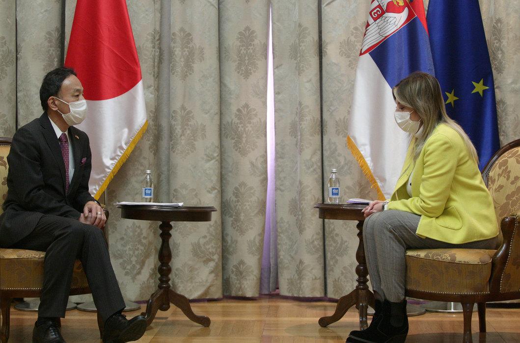 Prijateljski odnosi i razvojna saradnja Srbije i Japana