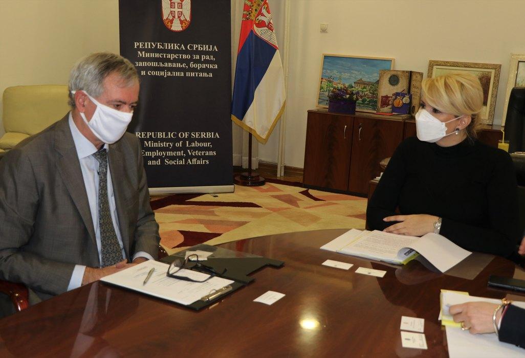 Saradnja Srbije i Belgije u oblasti rada i zapošljavanja