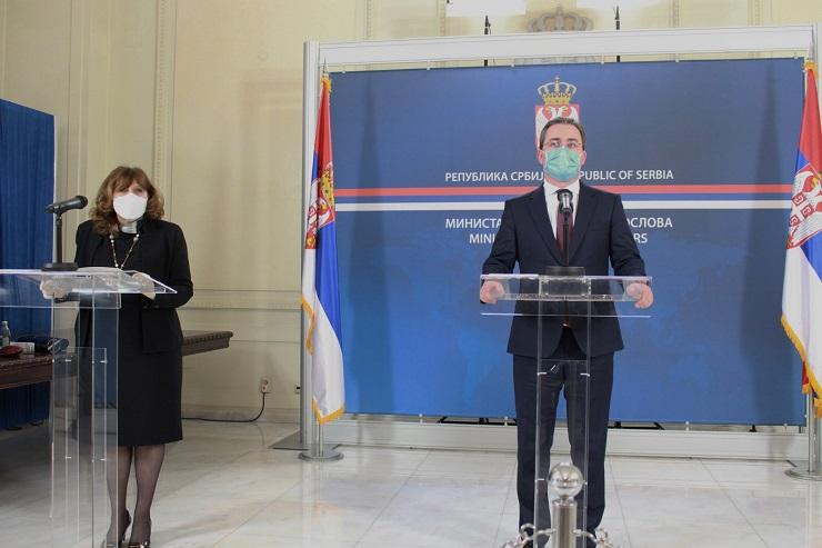 Ministar Selaković uručio diplome polaznicima Diplomatske akademije VIDEO