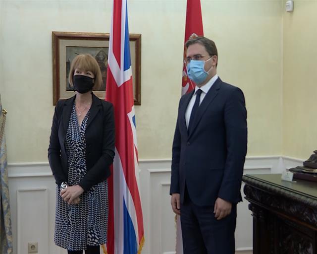 Selaković: Srbija za produbljivanje odnosa sa Britanijom