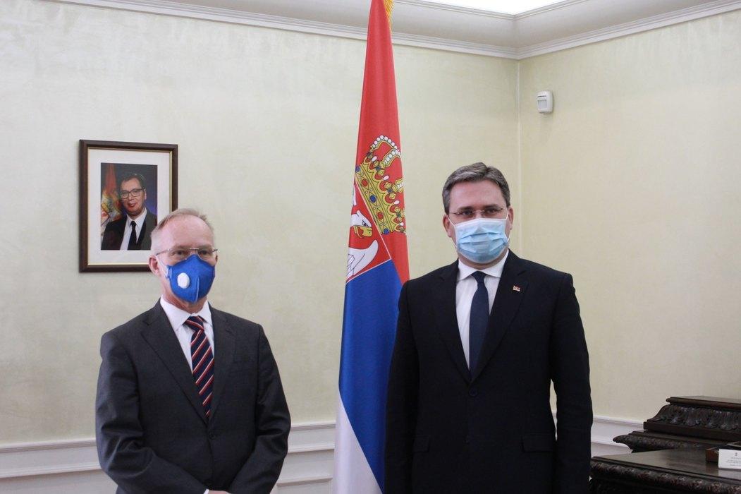 Selaković sa novim šefom OEBS-a u Sbiji