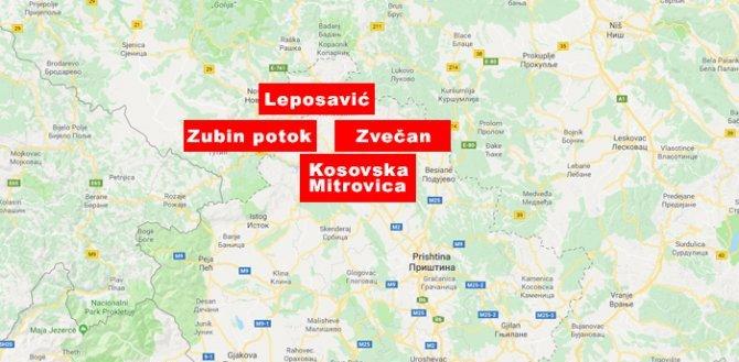 Sirene i hapšenja na severu Kosova i Metohije