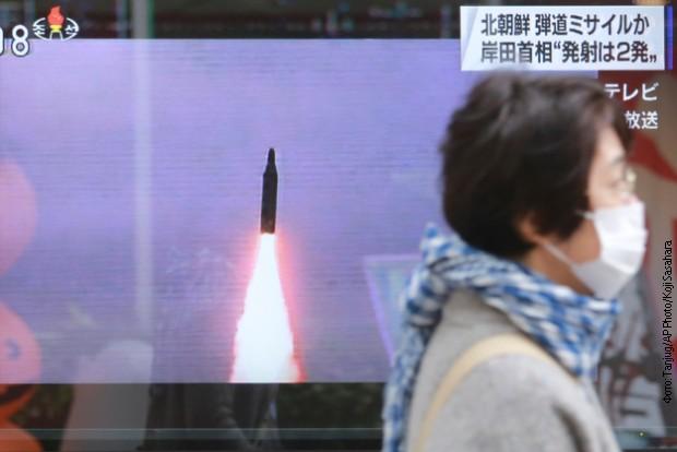 Pjongjang ponovo testirao balističku raketu