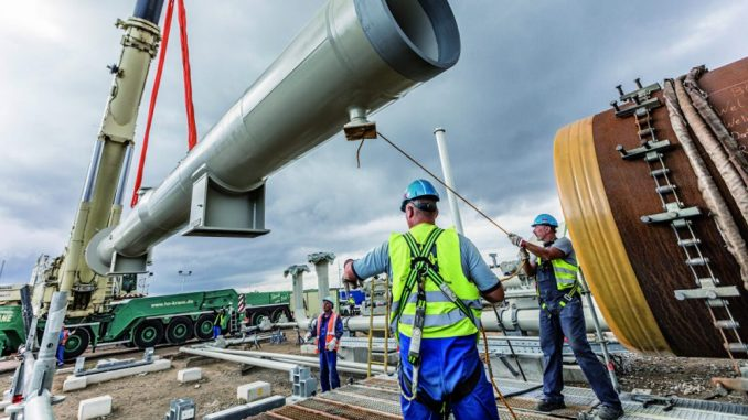 Bajden: Gasovod Severni tok 2
