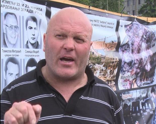Spasić pred protest podsetio na srpske žrtve na KiM