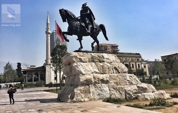 Još jedan spomenik Skenderbegu u Crnoj Gori