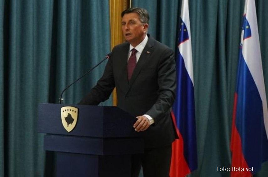 Pahor: Protiv sam promena granica na Balkanu, zalažem se za nastavak proširenja EU