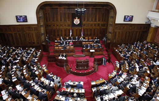 Skupština Srbije danas o amandmanima