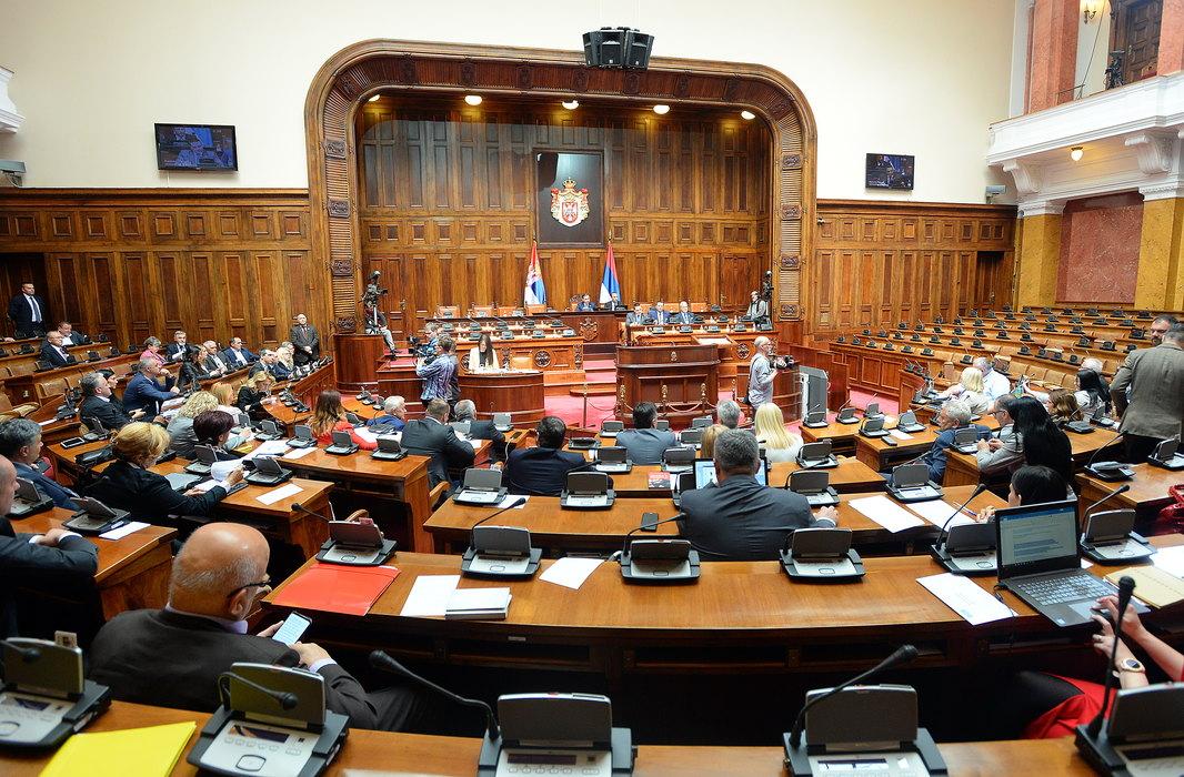 Skupština o setu zakona iz trgovine