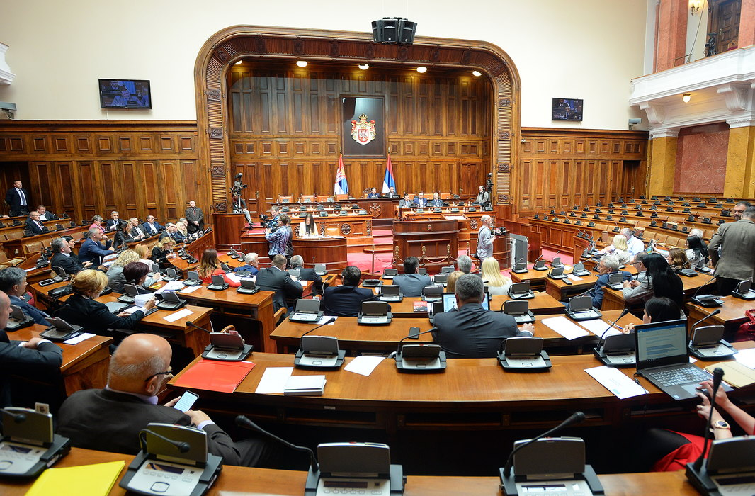 Počela nova sednica Skupštine Srbije