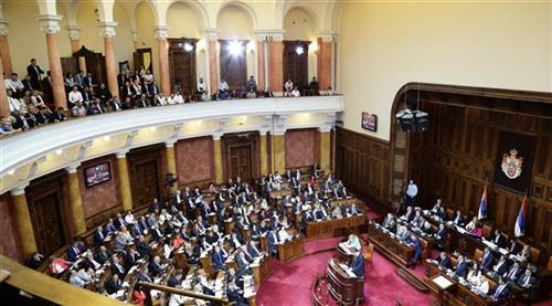 Poslanička pitanja o blokadi Rektorata