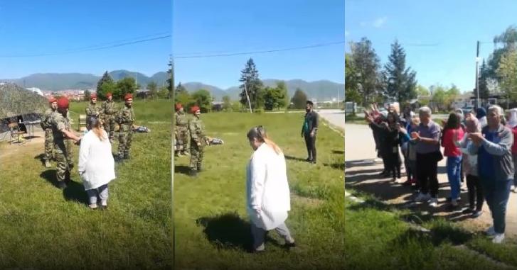 Ovacije za Vojsku Srbije – migranti im priredili ispraćaj koji će dugo pamtiti