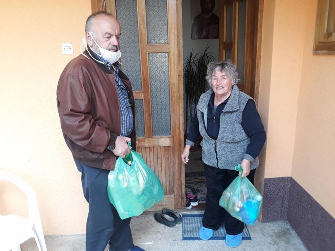 Pomoć stiže i do članova Udruženja ratnih vojnih invalida i veterana u Zubinom Potoku